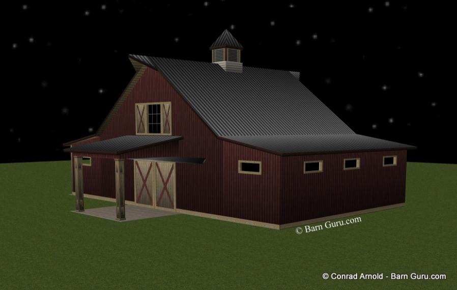 Storage Barn Plans For Sale