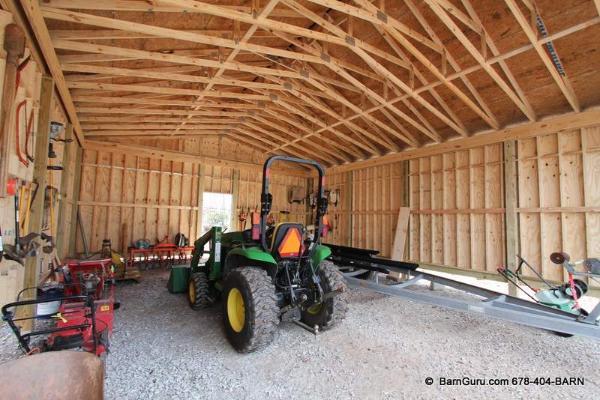 Barn Ceiling Options